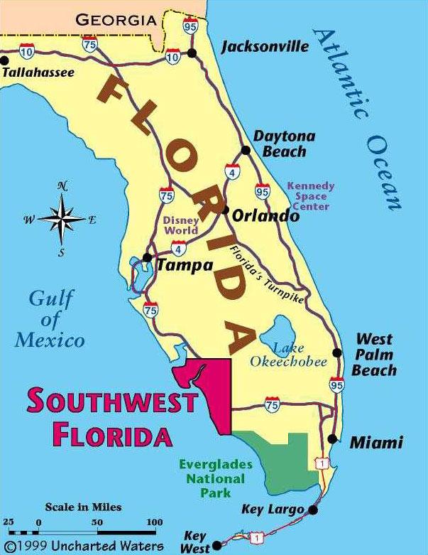 Florida Map · SW Florida Map
